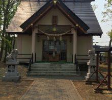 三里塚神社 社殿
