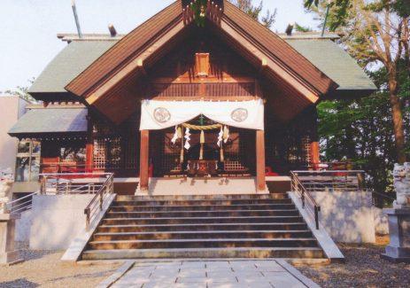 信濃神社 社殿1