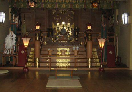 豊平神社 殿内