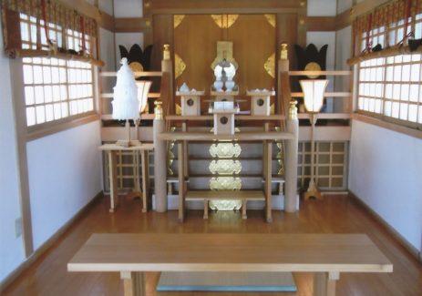 豊幌神社 殿内