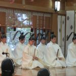 H27-7月「札幌護国神社宵宮祭・御霊璽奉安祭」奉仕2