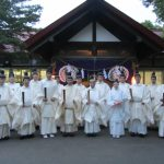 H27-7月「札幌護国神社宵宮祭・御霊璽奉安祭」奉仕4