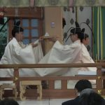 H27-7月「札幌護国神社宵宮祭・御霊璽奉安祭」奉仕3
