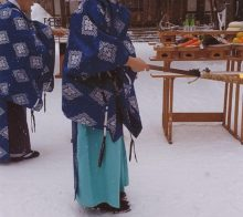 1月14日古神札焼納祭