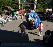 例祭獅子舞