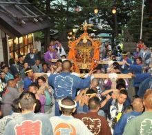 手稲神社例大祭神輿