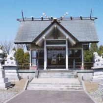 豊幌神社社殿 正面