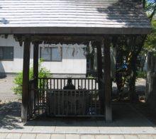 豊平神社 手水舎