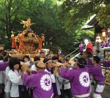 例祭神輿渡御